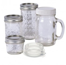 Promo-Pack 4 Gobelets en verre pour Blender Tribest