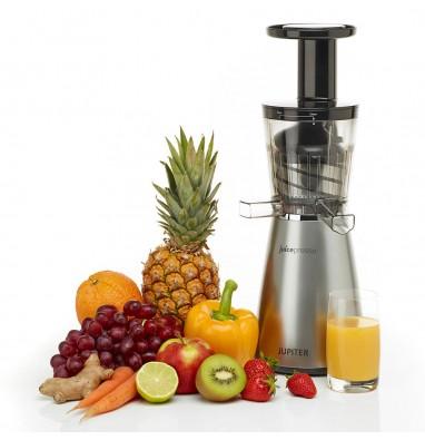 Extracteur de jus vertical Juicepresso - Argent