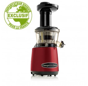 Extracteur de jus vertical Omega VRT402 Rouge