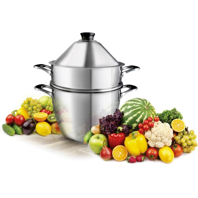 Cuit vapeur vapok cuiseur vapeur nature vitalit for Appareil vapeur cuisine