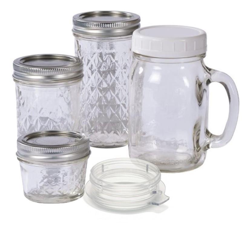 Bien connu Lot de 4 gobelets en verre pour le blender Tribest KW52