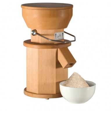 Moulin c r ales compact oktini moulin farine - Moulin graines de lin cuisine ...