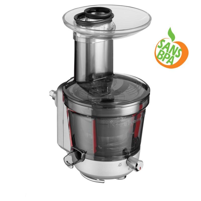 accessoire extracteur de jus et sauce 5ksm1ja pour robot multifonction kitchenaid nature et. Black Bedroom Furniture Sets. Home Design Ideas