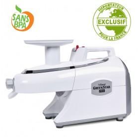 Extracteur de jus Greenstar Pro Blanc
