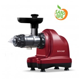 Extracteur de jus BioChef AXIS Cold Press Rouge