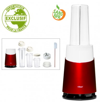 Personal Blender Tribest PB410 - Rouge