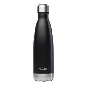 Bouteille isotherme Qwetch - Noir - 500 ml
