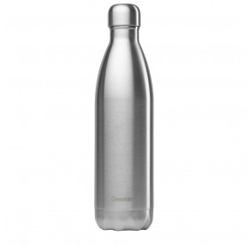 Bouteille isotherme Qwetch - Inox brossé - 750 ml