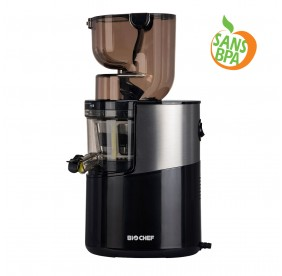 Extracteur de Jus BioChef Atlas Whole Slow Juicer PRO - NOIR