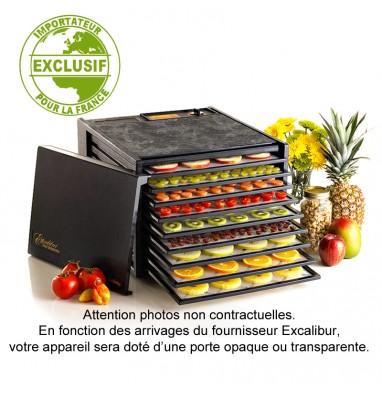 Déshydrateur Excalibur 9 plateaux - Noir sans minuteur