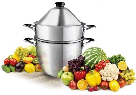 La cuisson la vapeur douce le guide d achat nature for Appareil cuisson vapeur douce